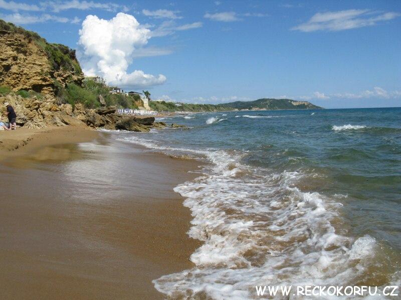 Pláž Agios Georgios 6 – Řecko Korfu