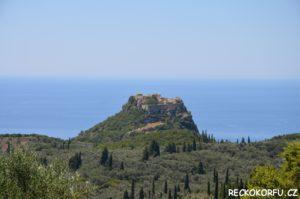 Hrad Angelokastro Řecko Korfu