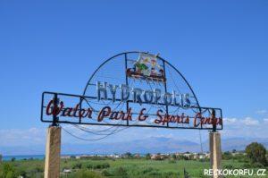 Hydropolis Aquapark Korfu Řecko