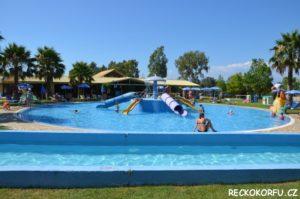 Hydropolis Aquapark Korfu Řecko 2