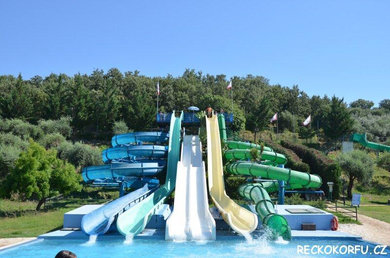 Hydropolis Aquapark Korfu Řecko 4