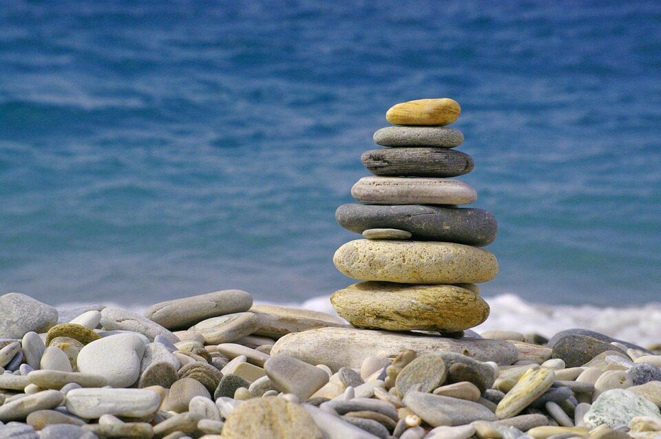 kameny moře