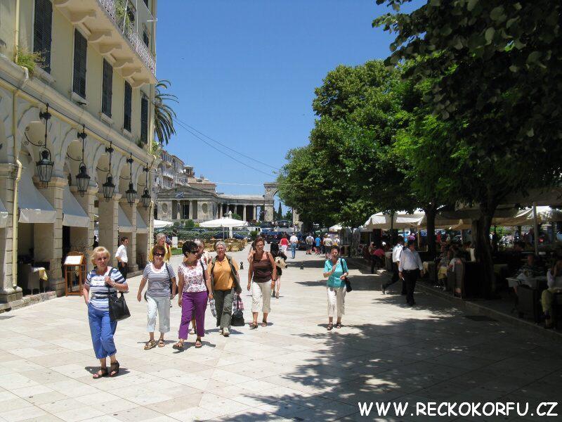 Kerkyra - Řecko Korfu