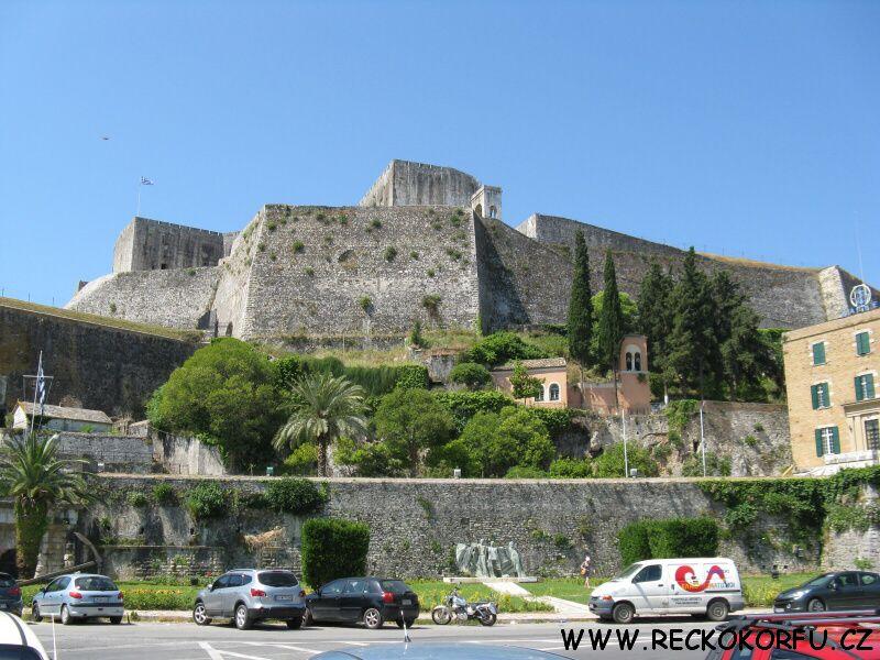 Kerkyra hrad - Řecko Korfu