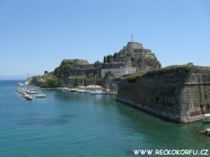 Kerkyra pevnost - Řecko Korfu