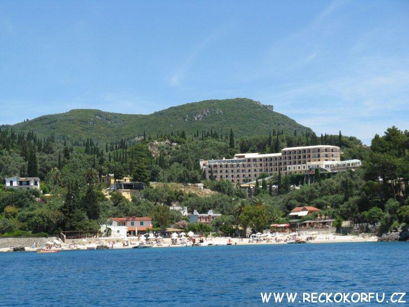 Korfu Paleokastritsa - výlet lodí 4
