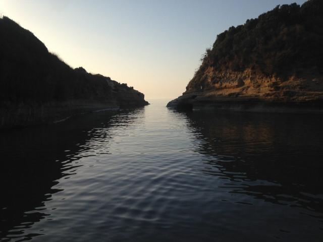 Korfu Sidari Řecko 2