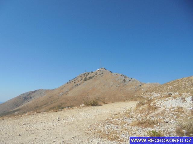 Pantokrator - nejvyšší hora Korfu - Řecko