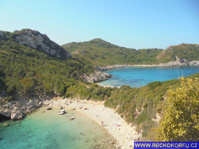 Porto Timoni pláž - Řecko Korfu
