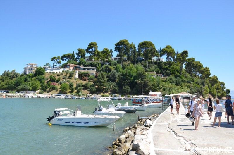 Restaurace Kanoni - Korfu Řecko