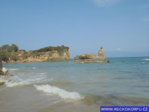 Sidari Řecko Korfu